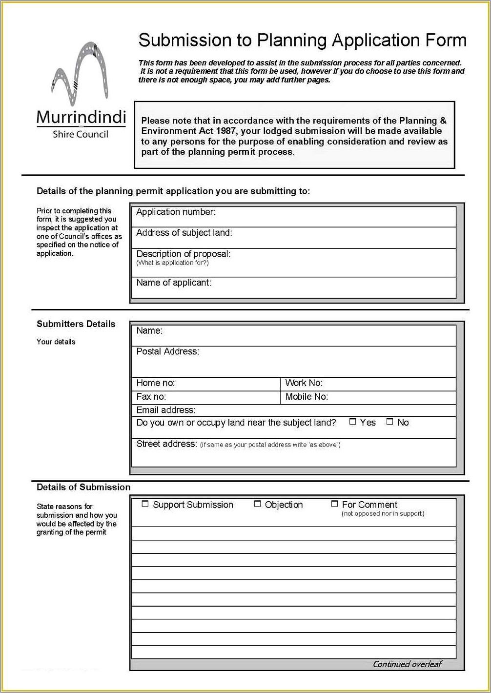 Download Free Parking Permit Templates