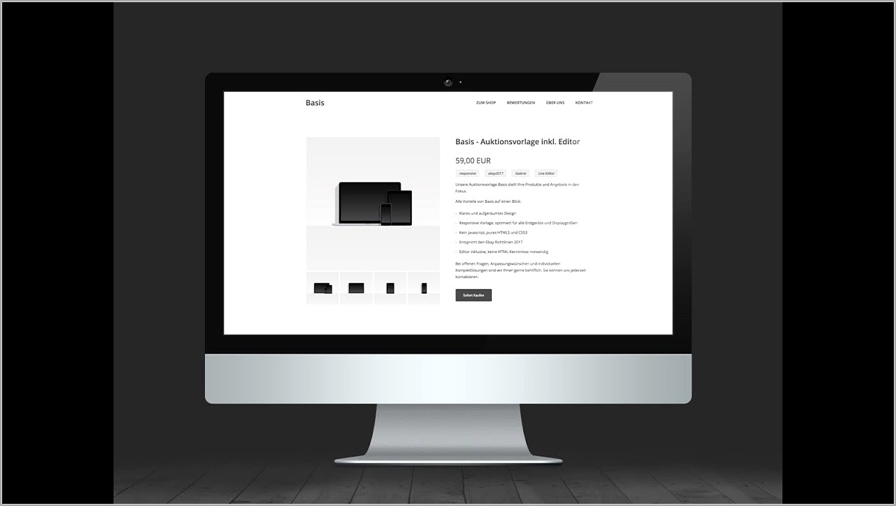 Ebay Listing Template Free Download