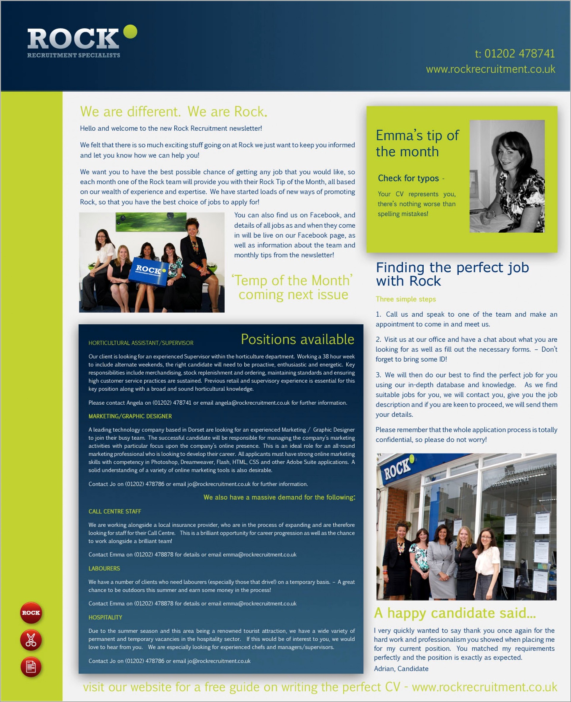 Free Business Newsletter Templates Microsoft Word