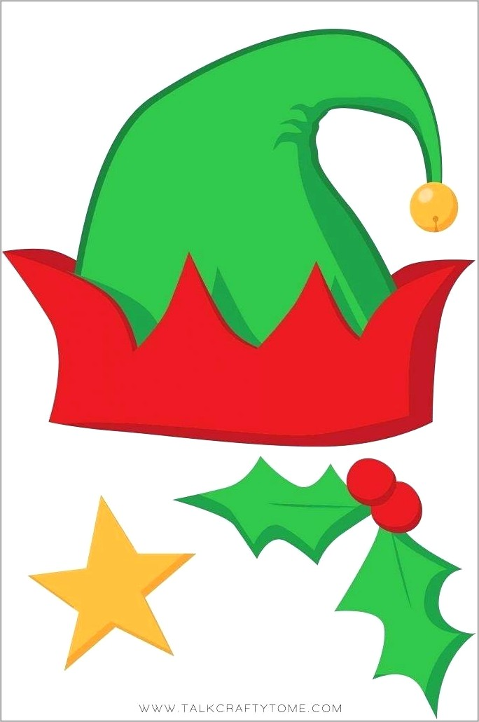 Free Christmas Photo Booth Prop Templates