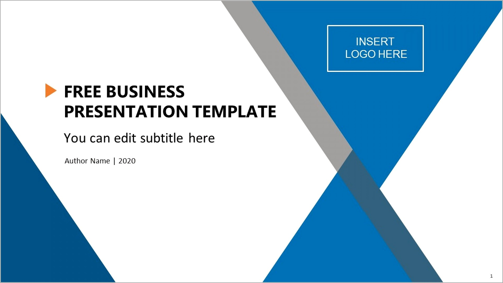 Free Download Ppt Templates For Business Presentation