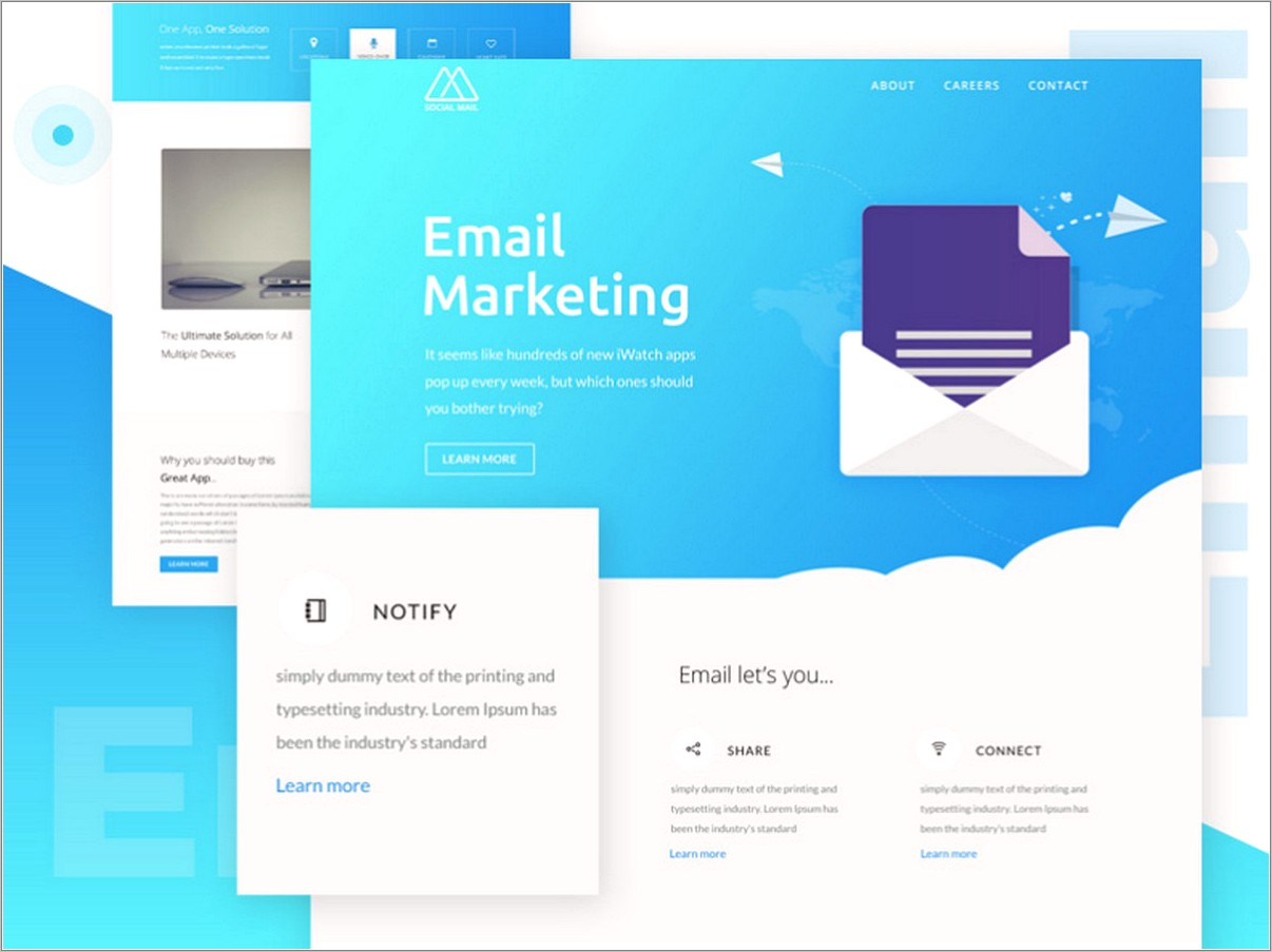 Free Email Marketing Templates For Outlook