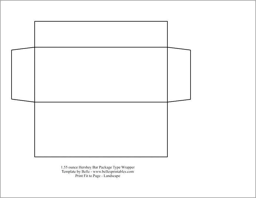 Free Hershey Bar Wrapper Template For Mac