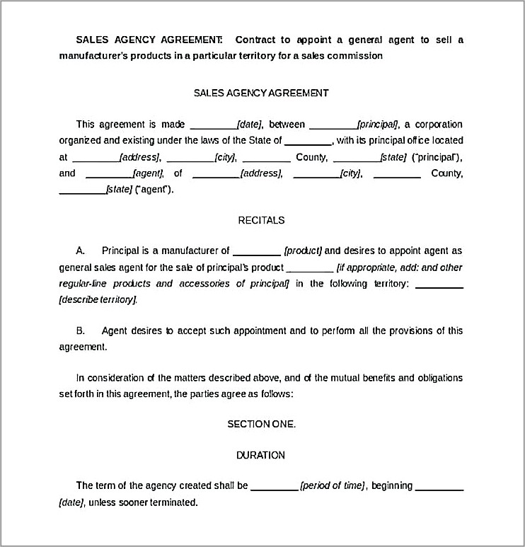 Free Home Purchase And Sale Agreement Form