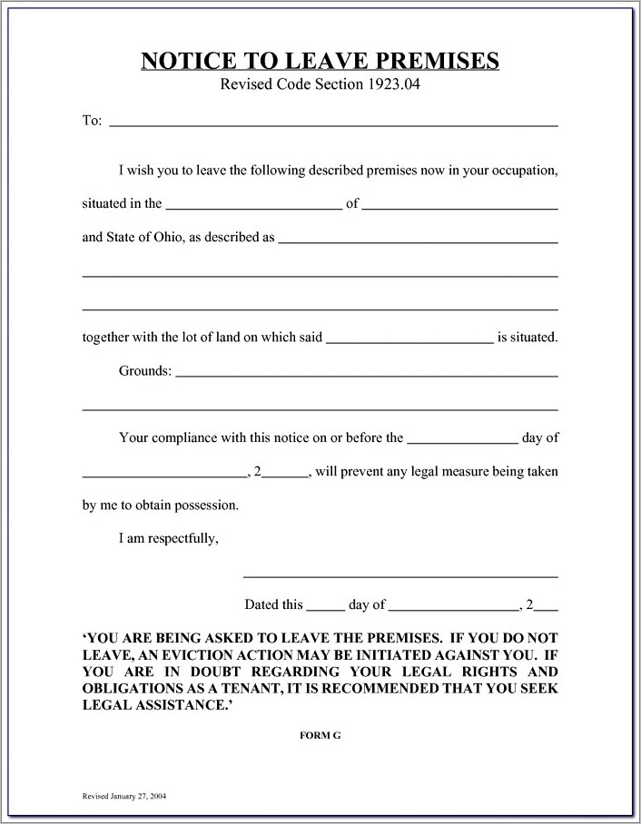 Free Illinois 5 Day Eviction Notice Form
