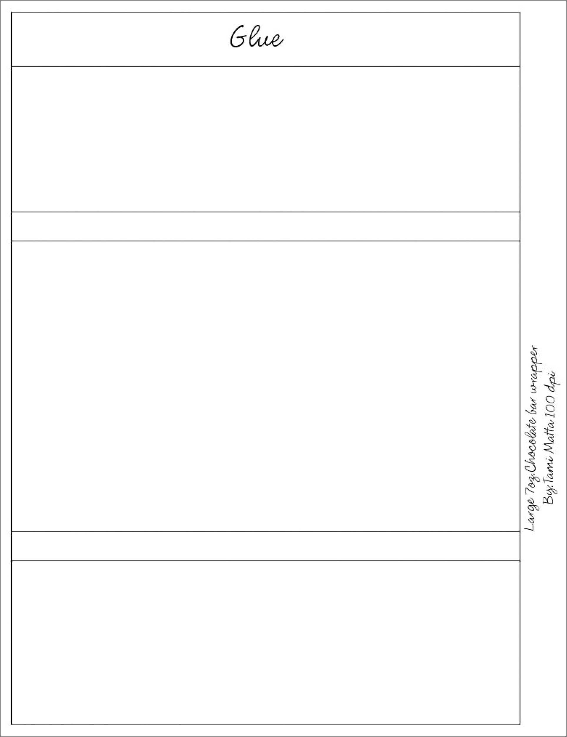 Free Mini Hershey Candy Wrapper Template
