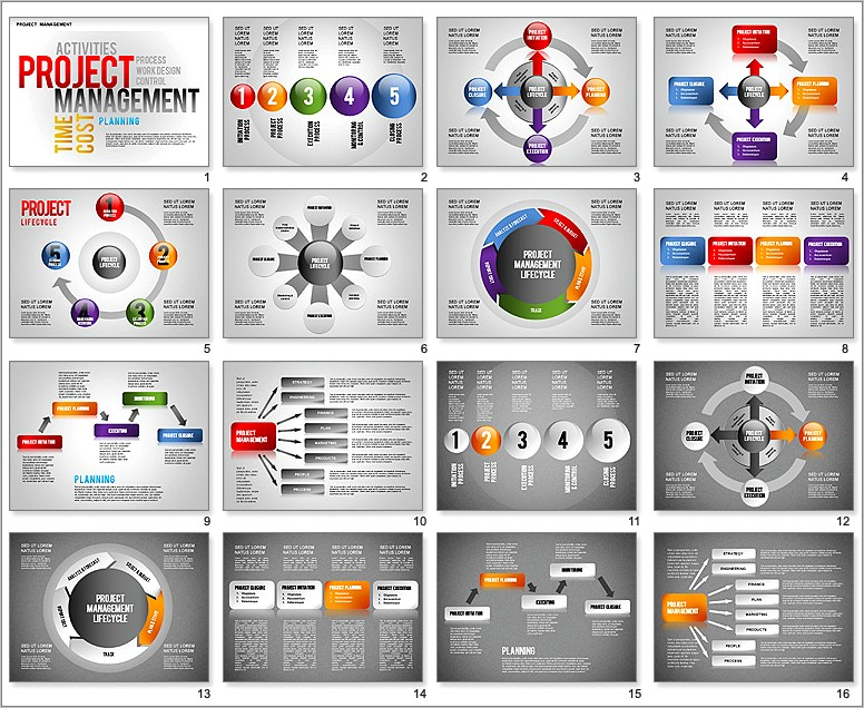 Free Ppt Templates For Project Presentation