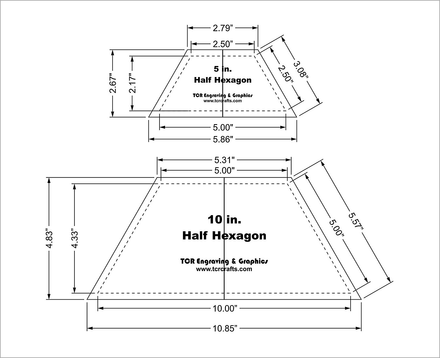 Free Printable Hexagon Template For Quilting