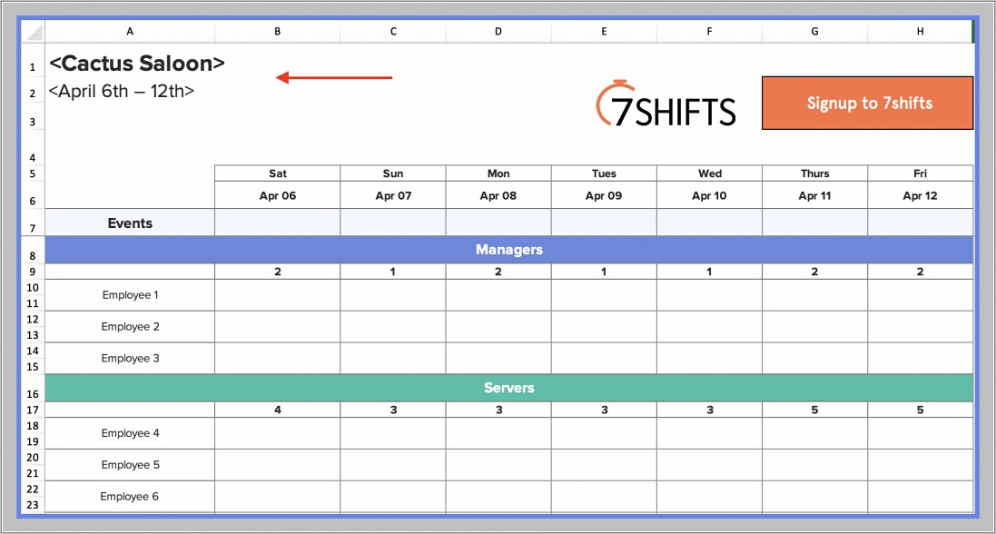 Free Production Planning Spreadsheet Templates