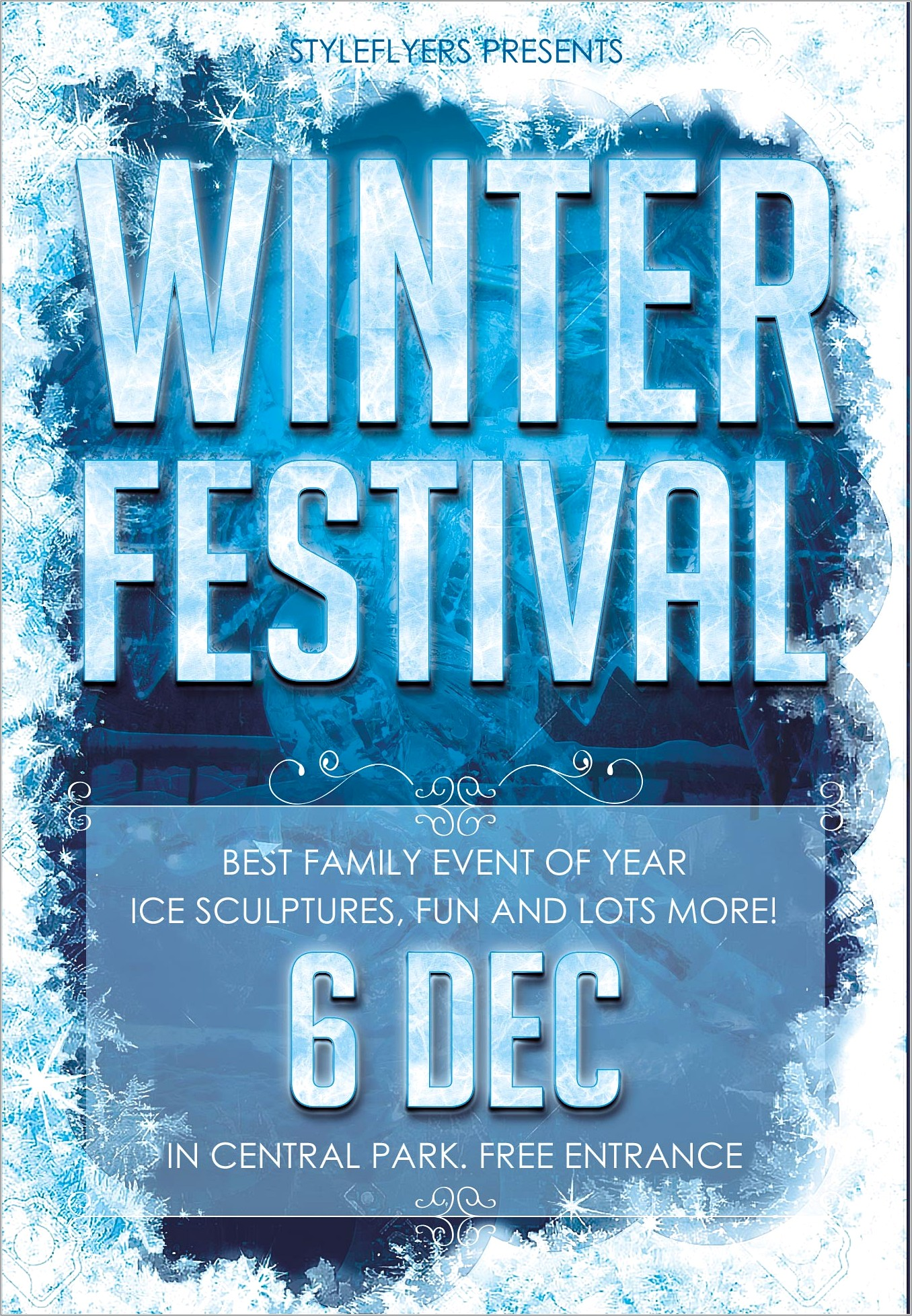 Free Winter Event Flyers Templates