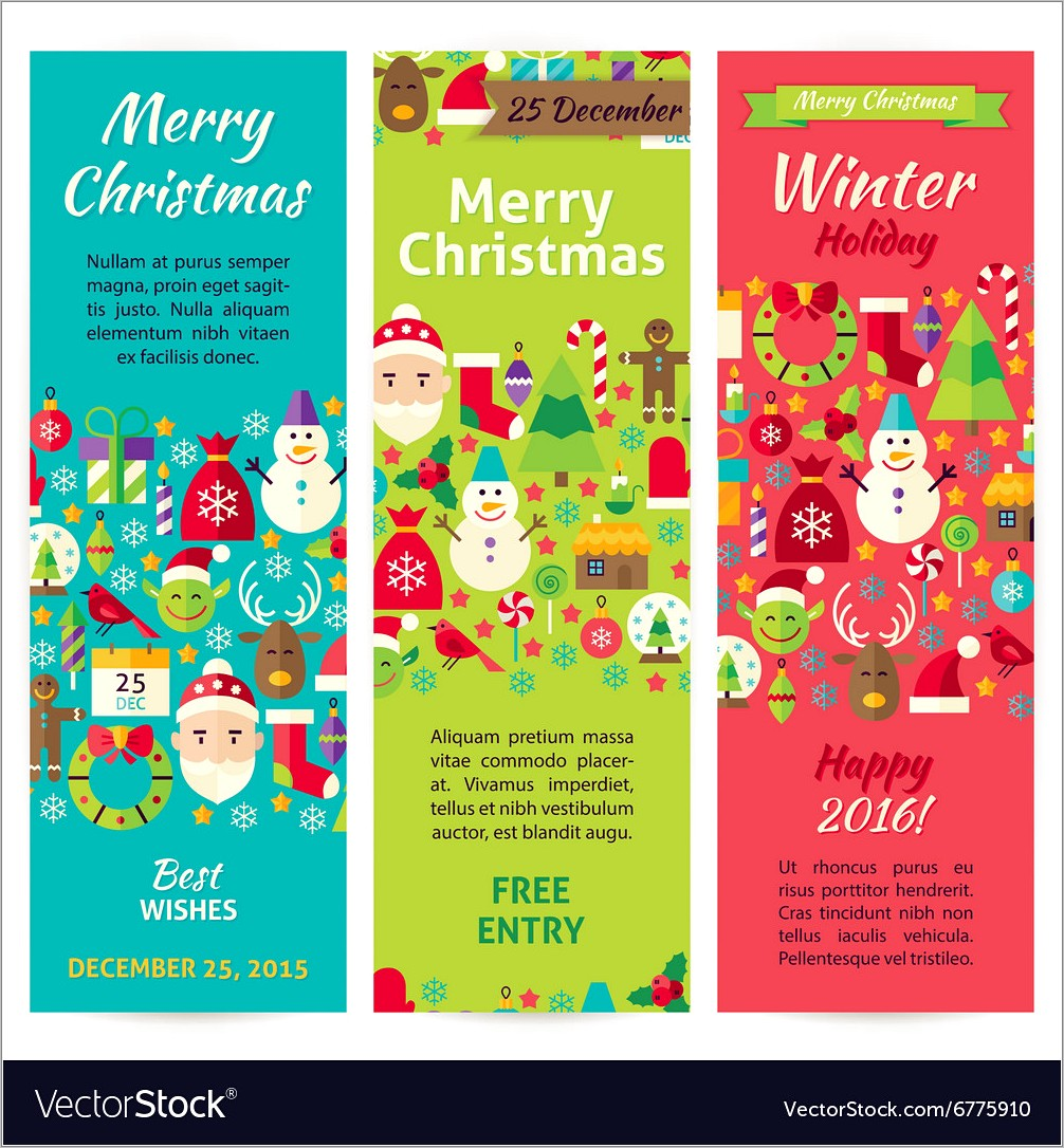 Free Winter Holiday Flyer Templates
