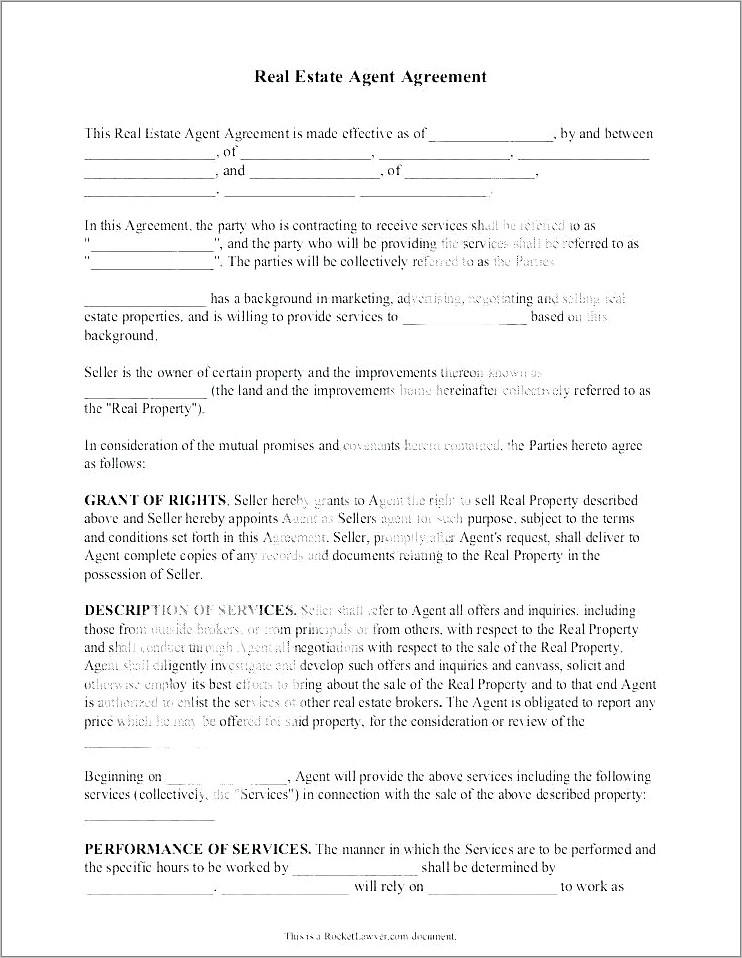 Freelance Recruitment Contract Template