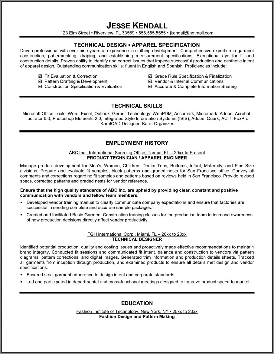 Fresher Cv Templates Free Download Word Document