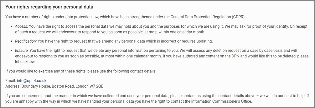 Gdpr Medical Consent Form Examples
