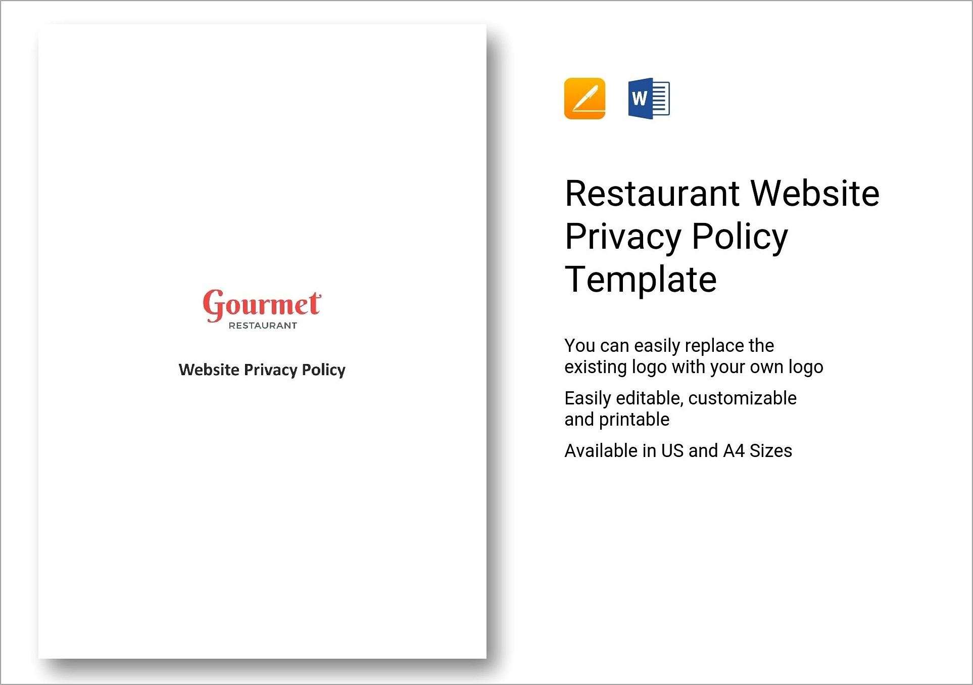 Generic Gdpr Privacy Policy Template