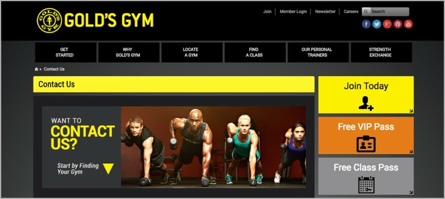 Golds Gym Membership Cancellation Request