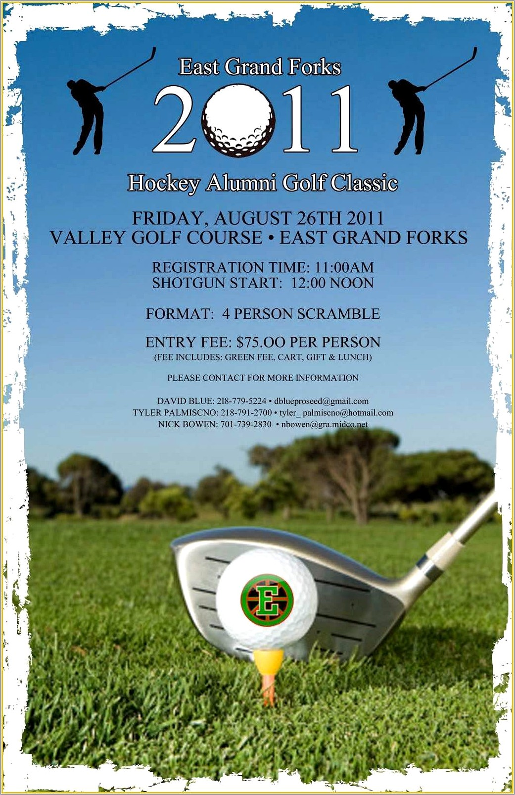 Golf Outing Brochure Templates