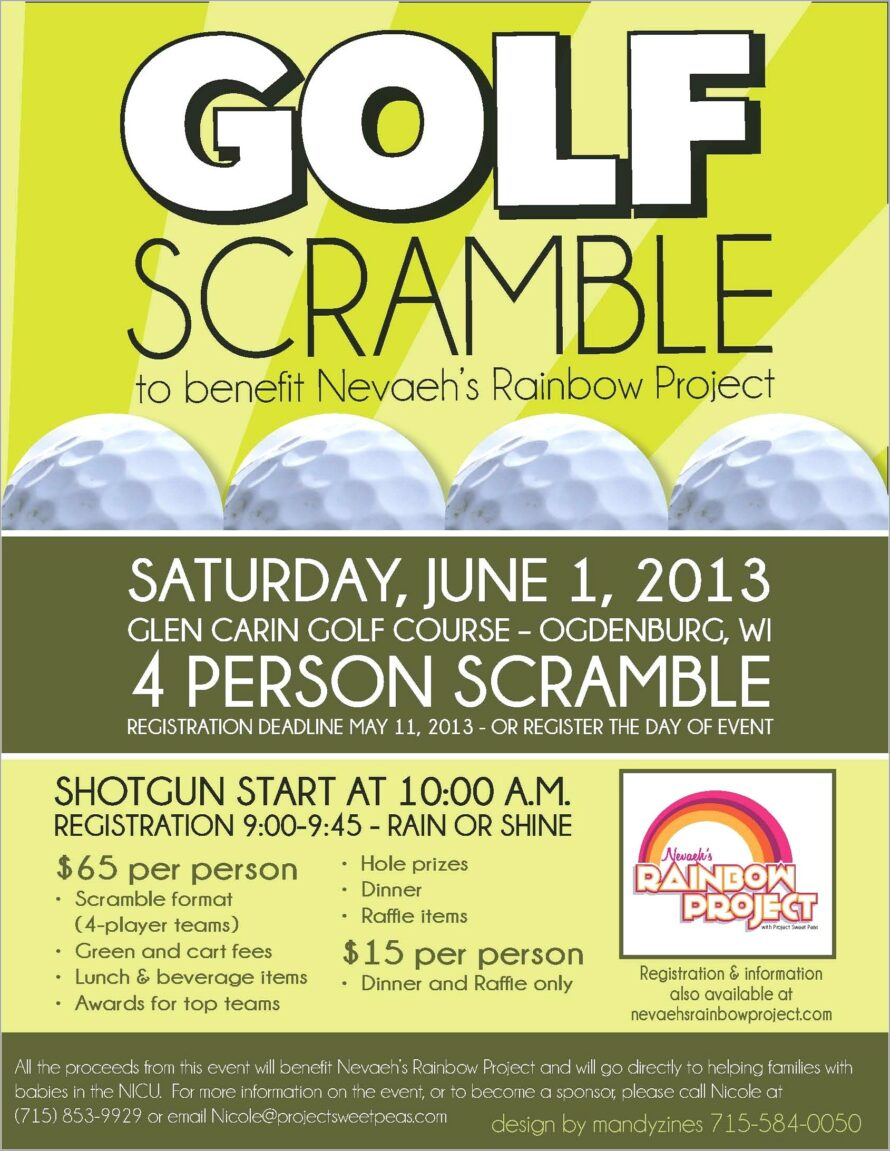 Golf Outing Flyer Templates