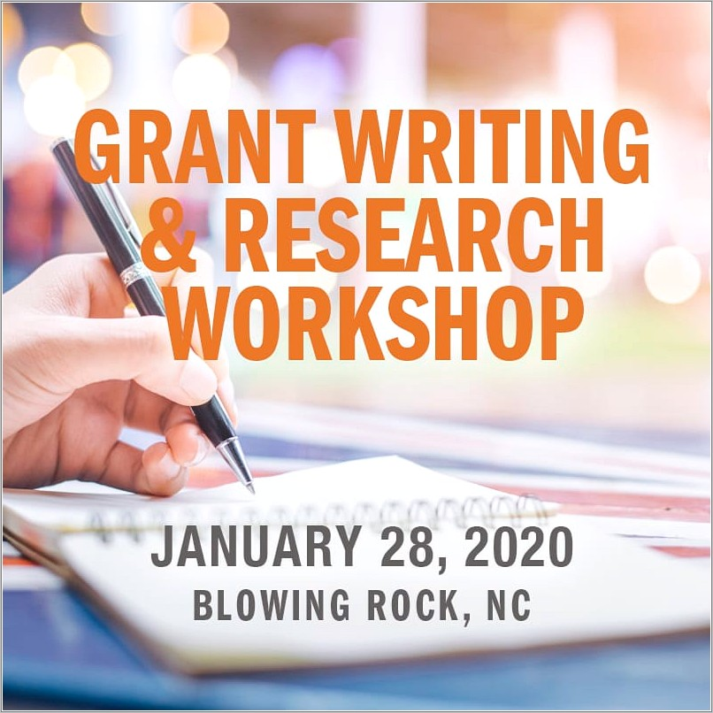 Grant Writing Classes For Nonprofits