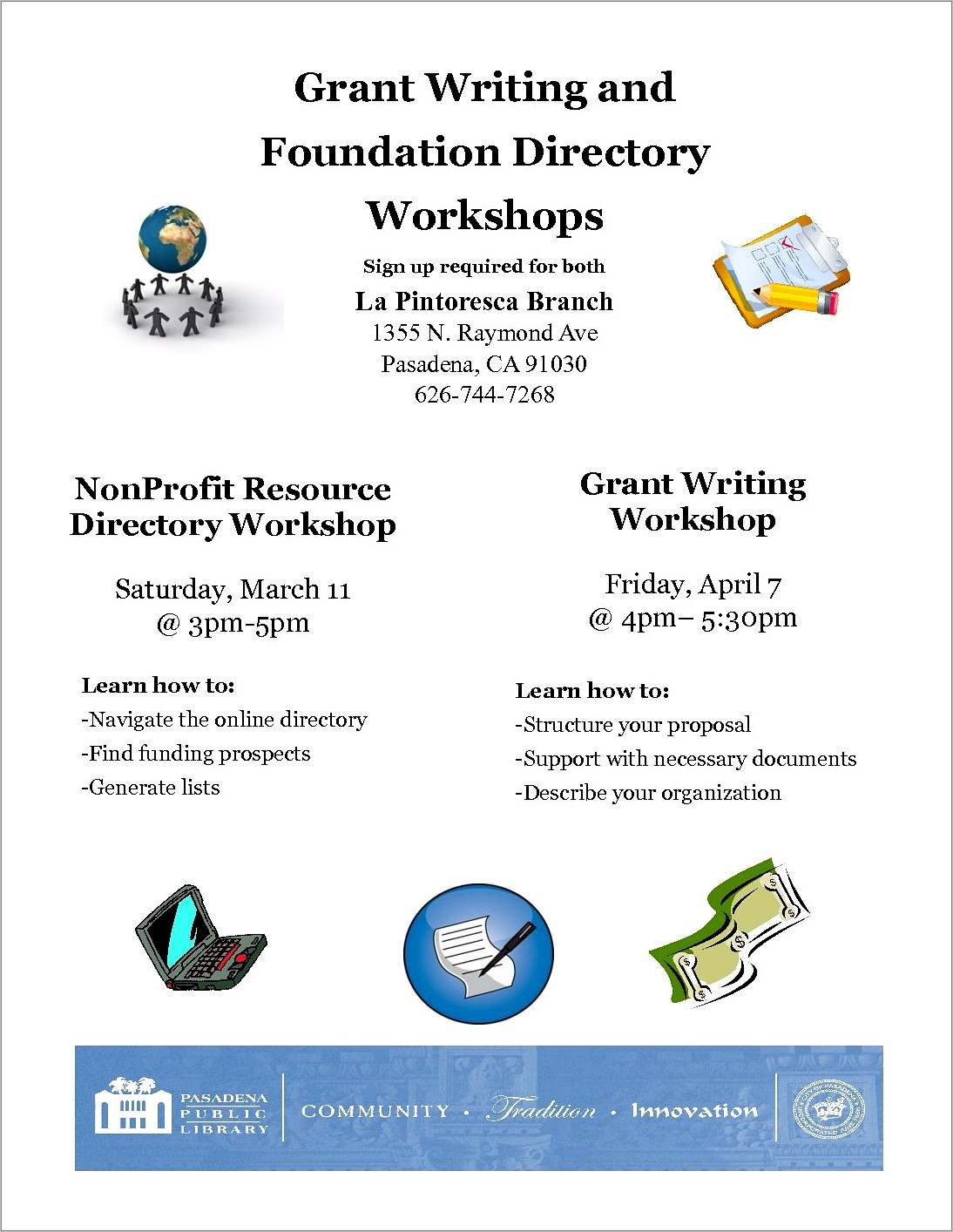 Grant Writing For Nonprofits Workshops