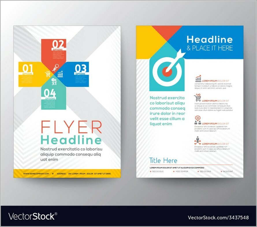Graphic Design Templates Brochures And Flyers