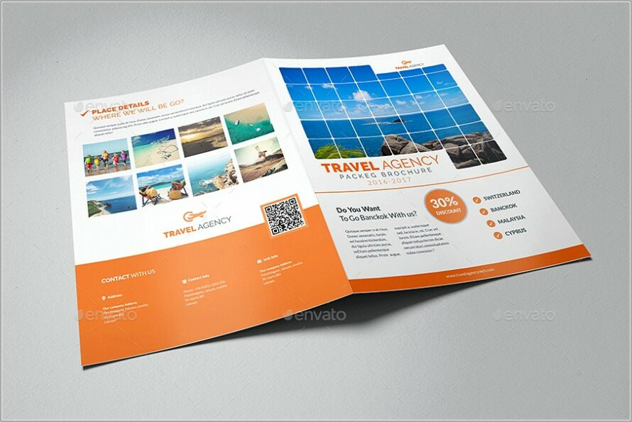 Graphicriver Travel Agency Trifold Brochure Template