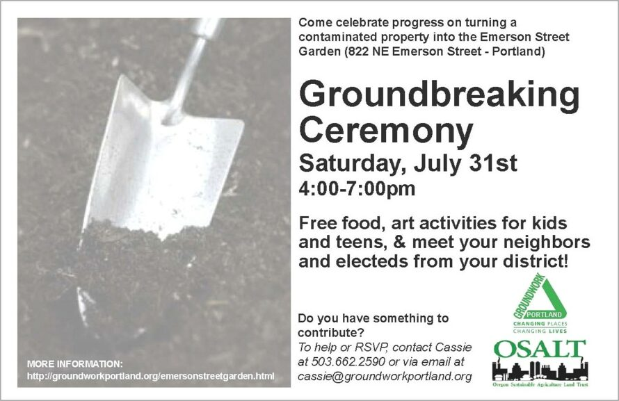 Groundbreaking Ceremony Invitation Sample