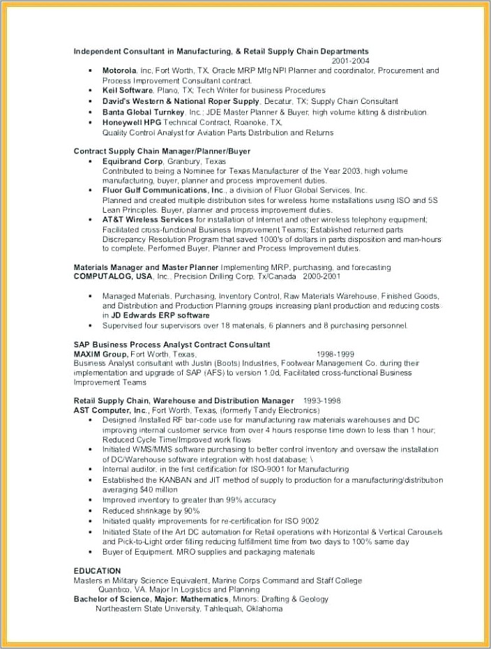 Group Fitness Instructor Resume Templates