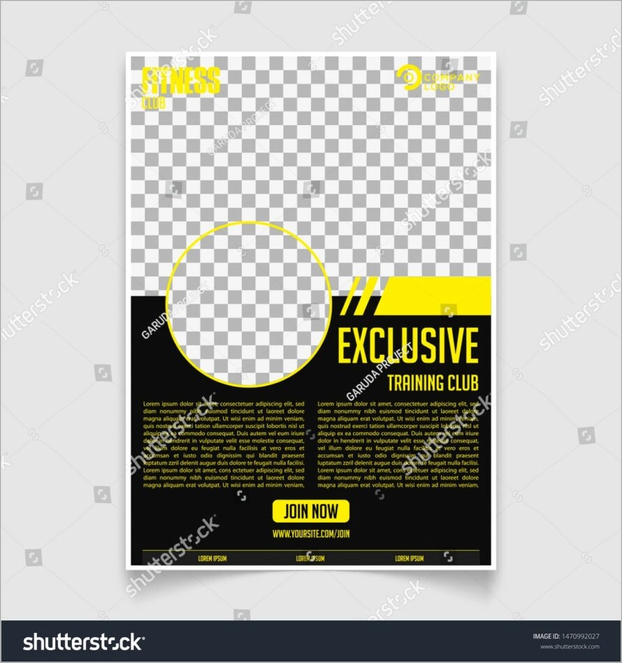Gym Brochure Templates Free