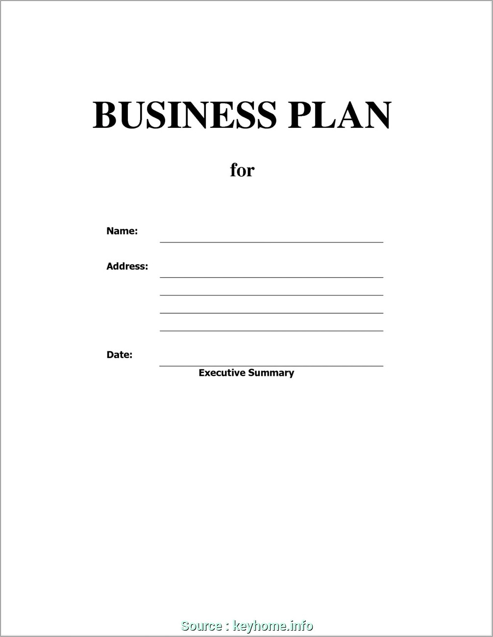 Gym Business Plan Example Pdf