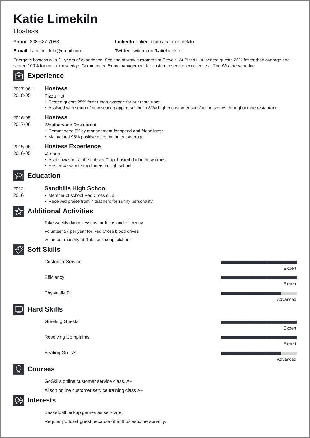 Hair Stylist Resume Objective Examples