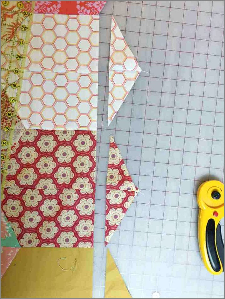 Half Hexagon Quilt Pattern Free