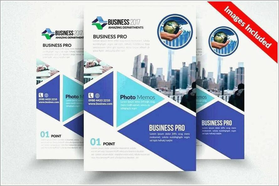 Half Page Flyer Template Word