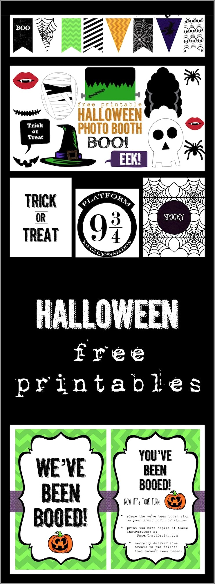 Halloween Photo Booth Props Free Printables