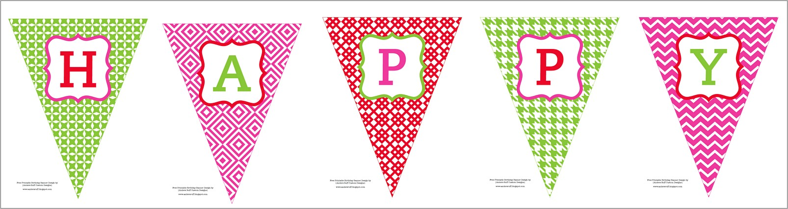 Happy Birthday Banner Templates Free Download