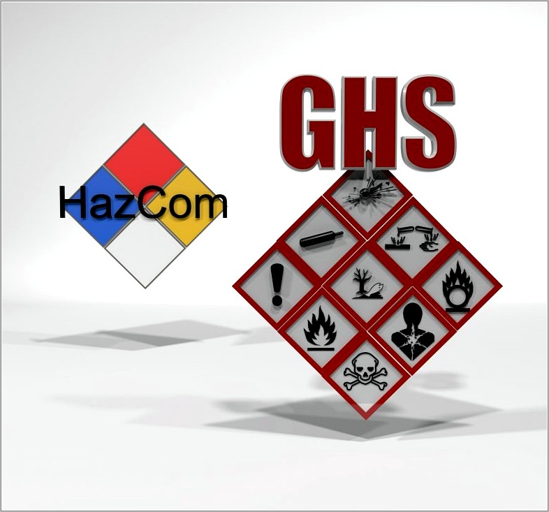 Hazard Communication Program Template Ghs