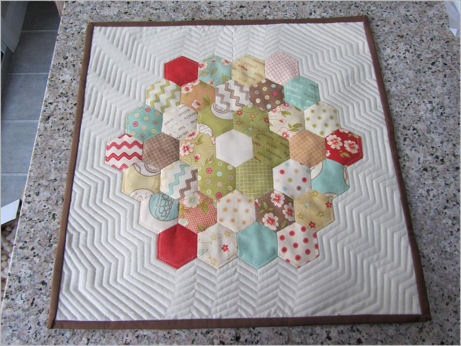 Hexagon Pattern For Quilting