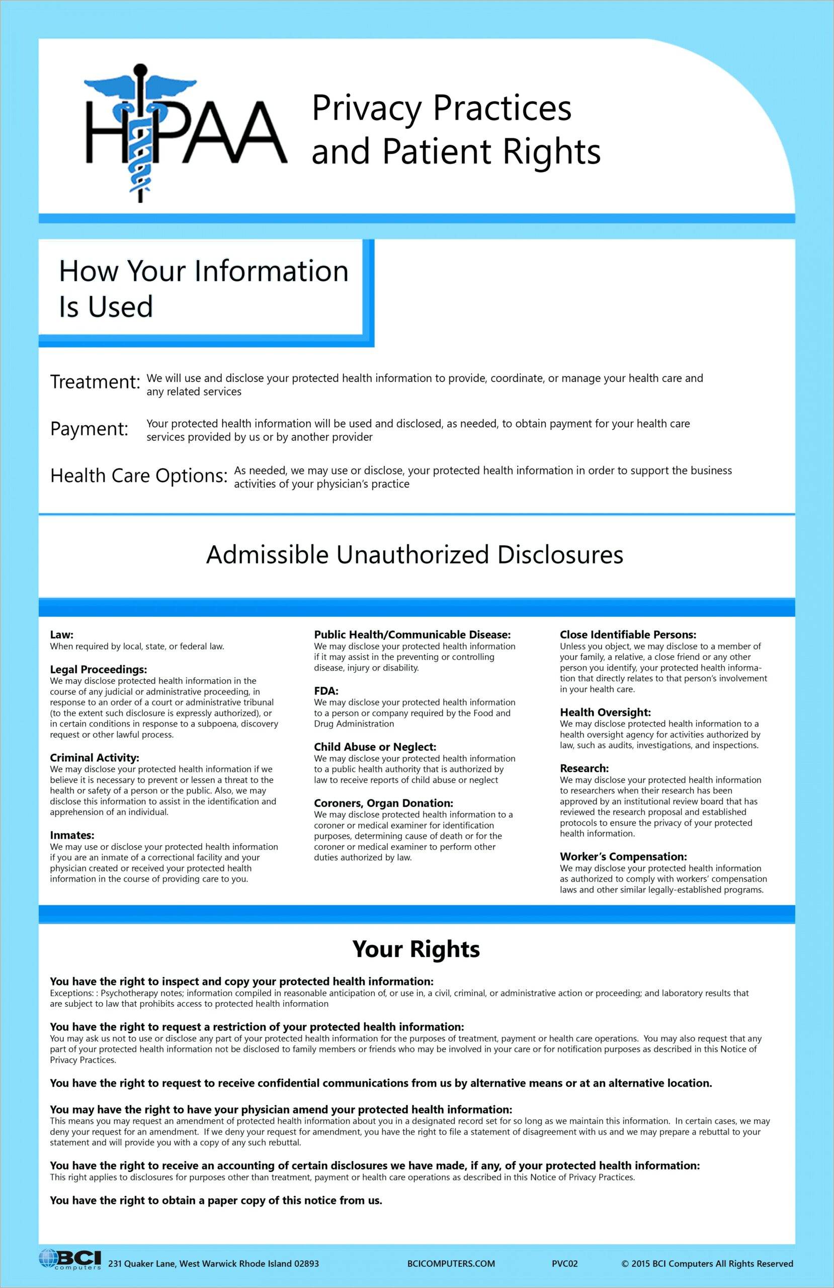 Hipaa Privacy Notice Template