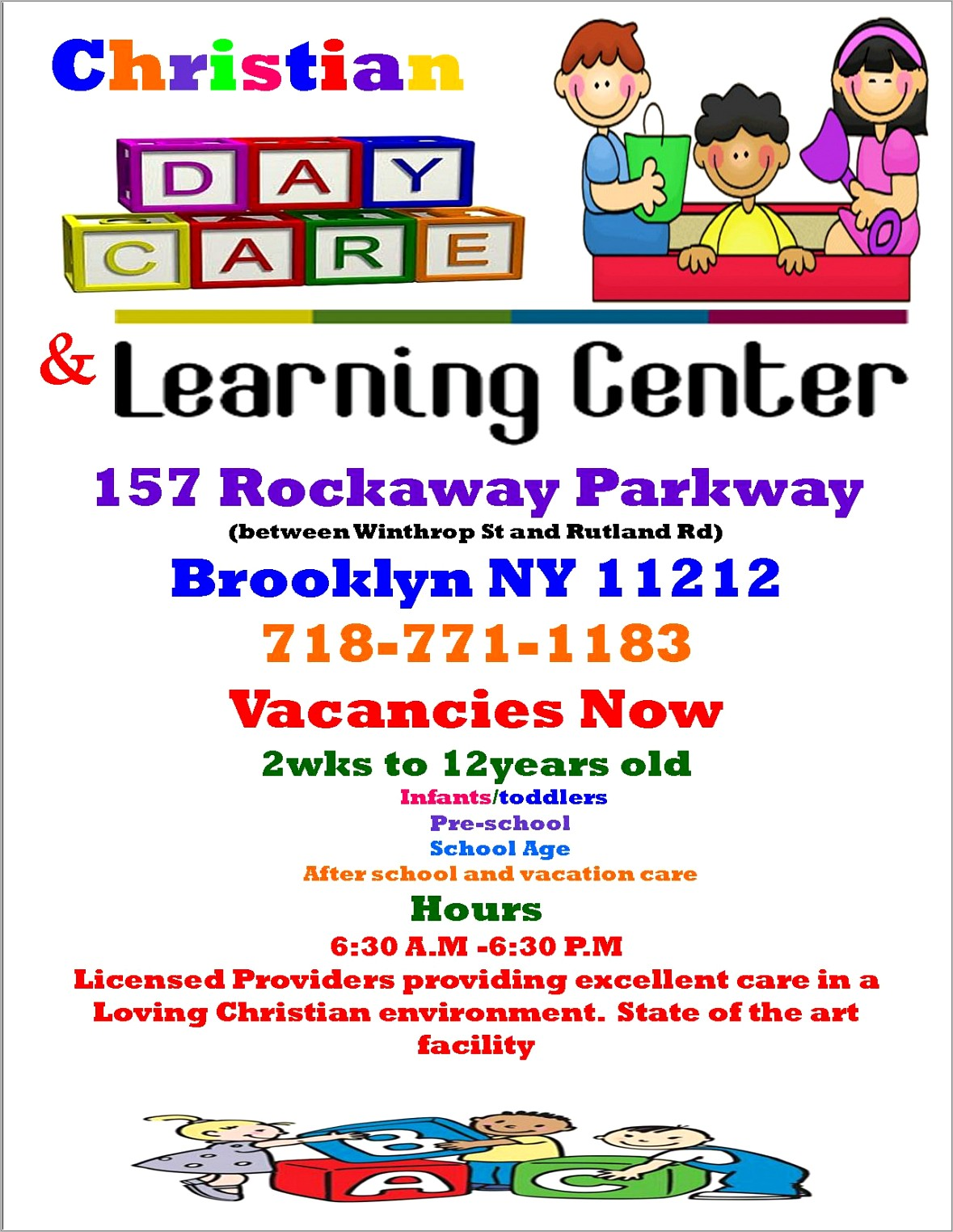 Home Daycare Flyers Free Templates