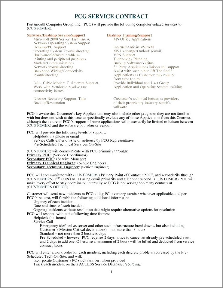 Home Staging Contract Of Agreement Template