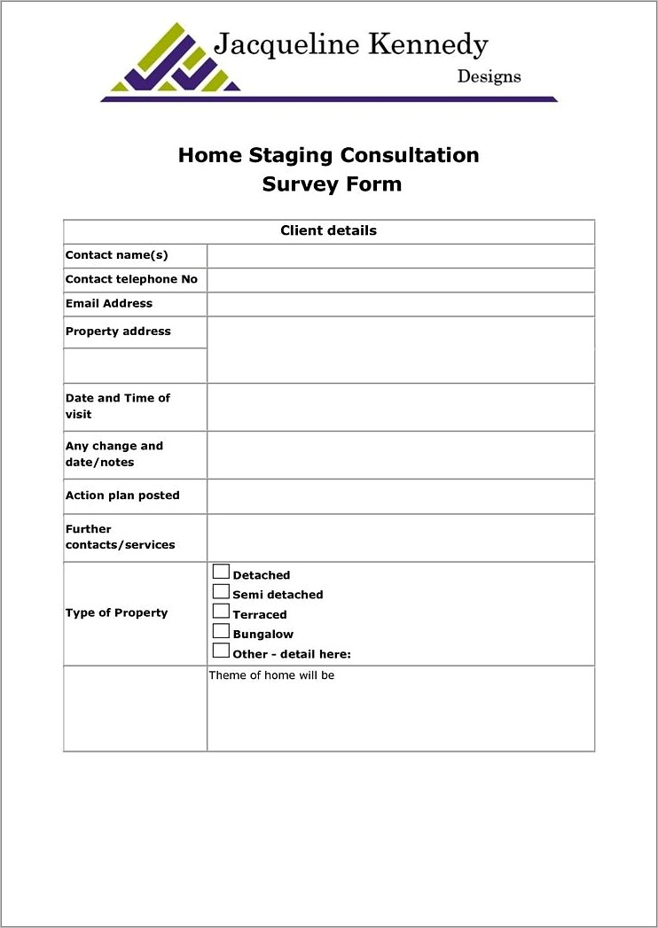 Home Staging Contract Samples