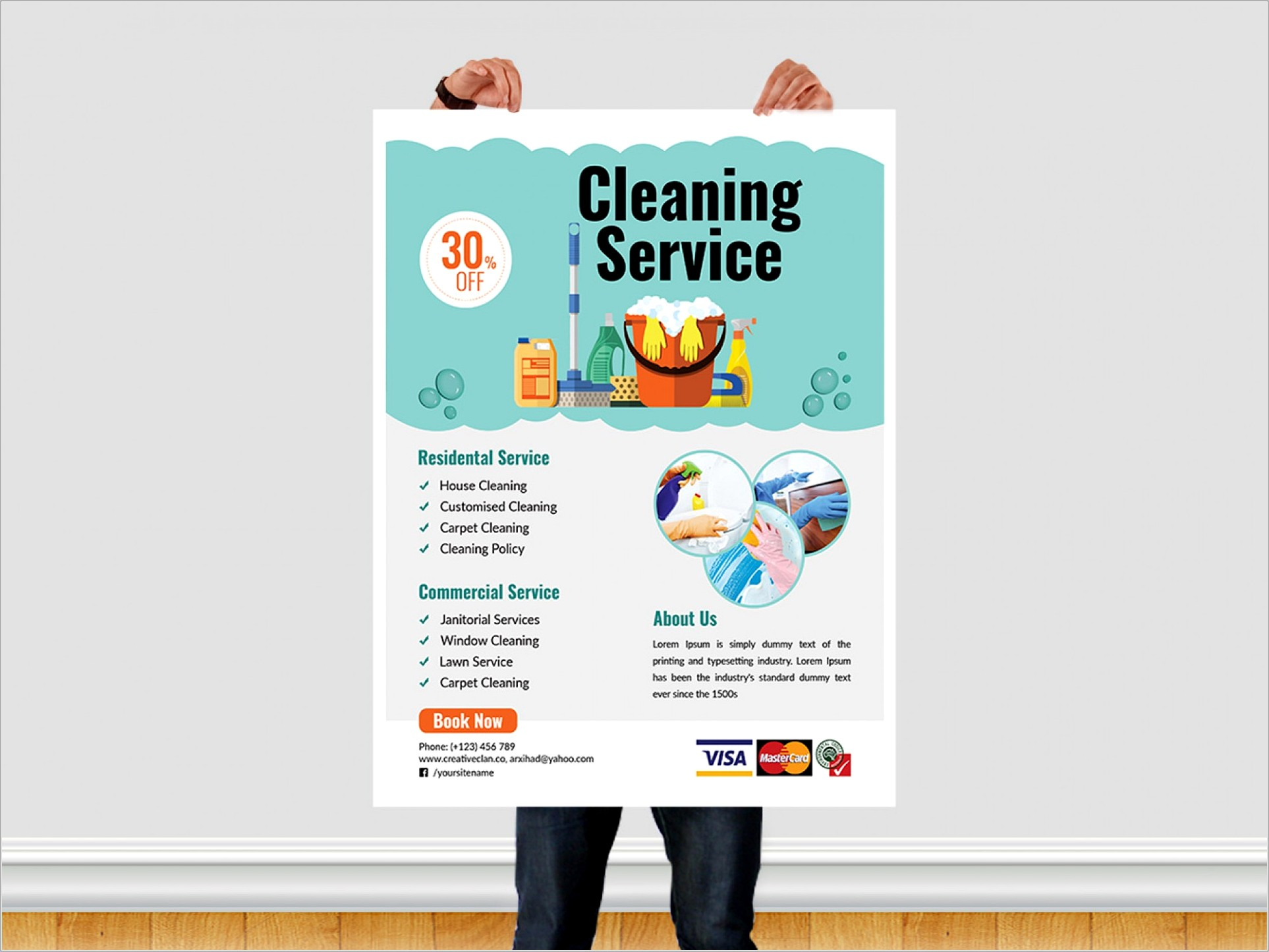 House Cleaning Flyer Samples