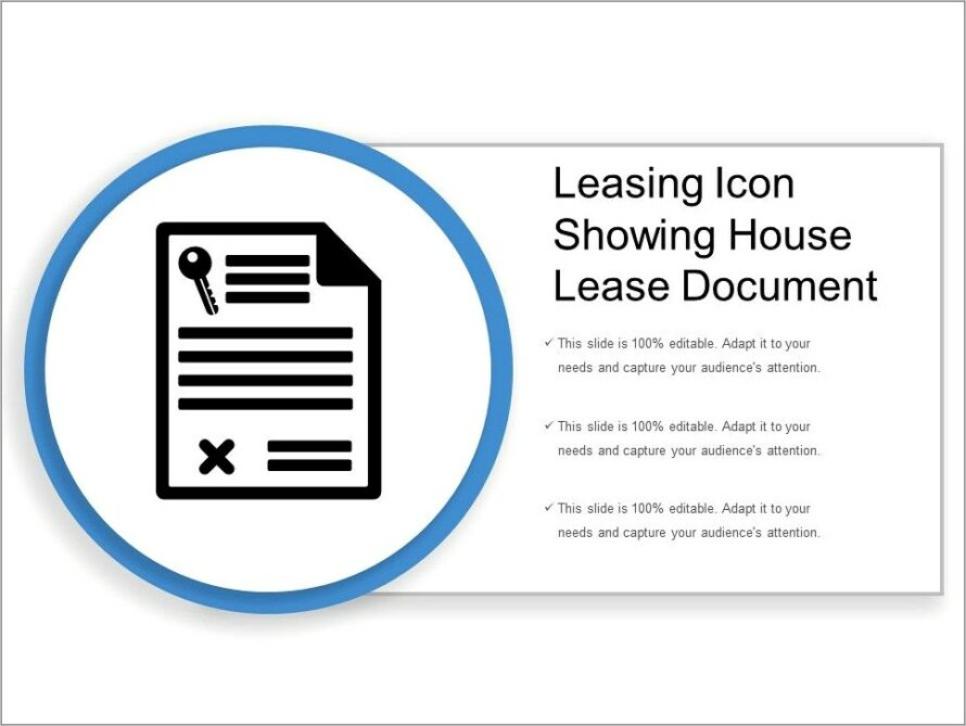 House Lease Document Template