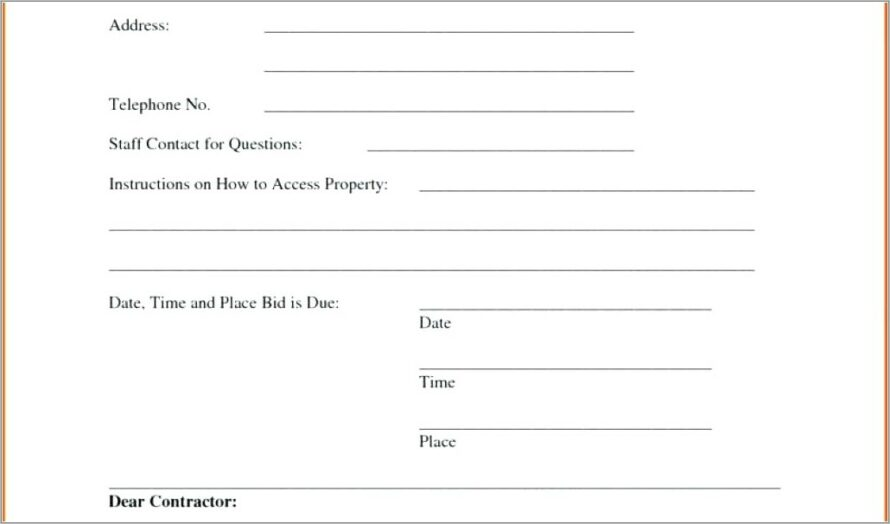 House Valuation Report Template