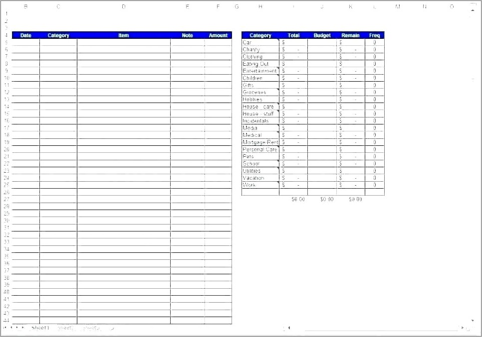 Income And Expense Spreadsheet Template For Mac