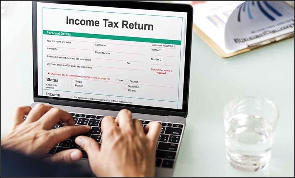 Income Tax Filing Form 16