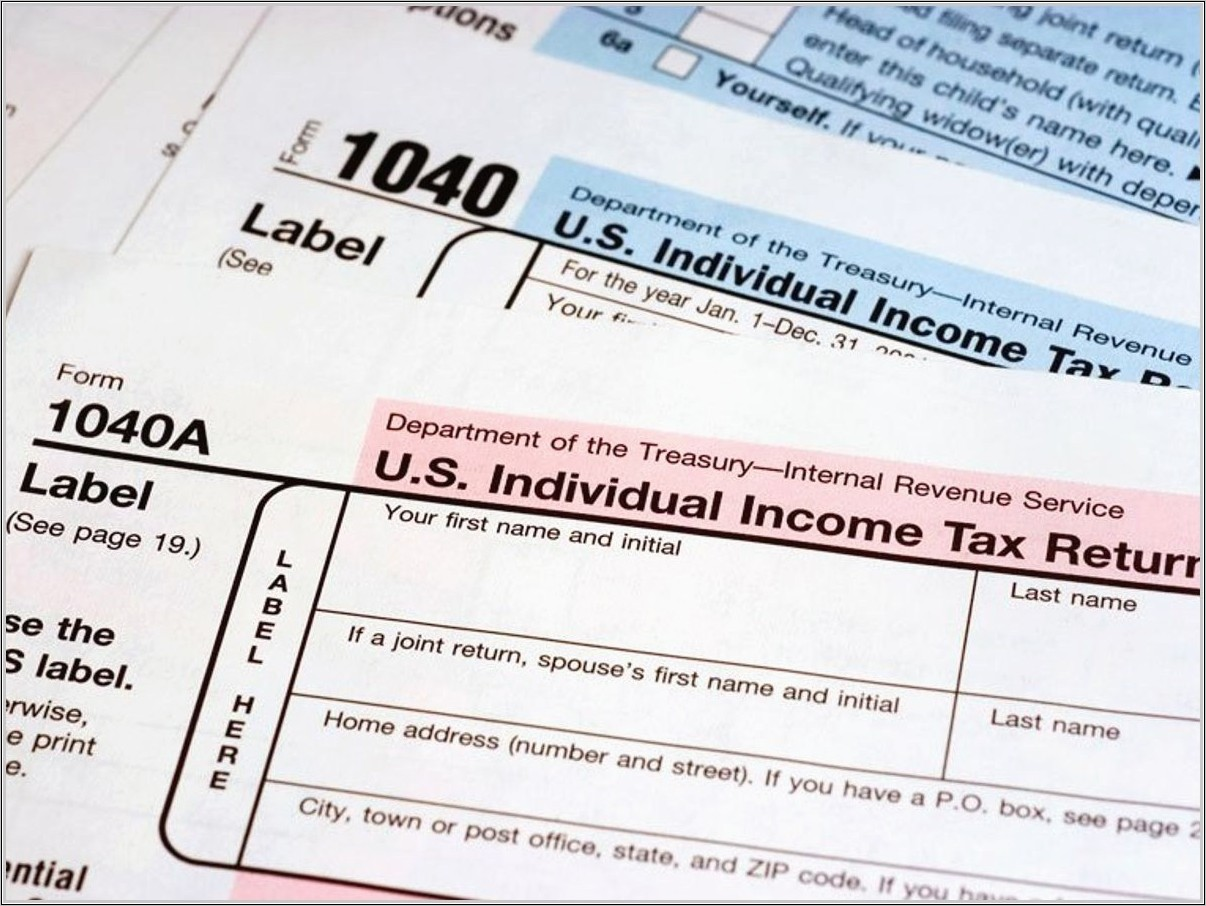 Income Tax Filing Form Number
