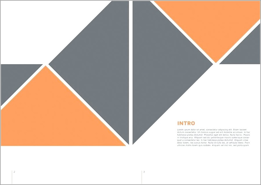 Indesign Booklet Template Free Download