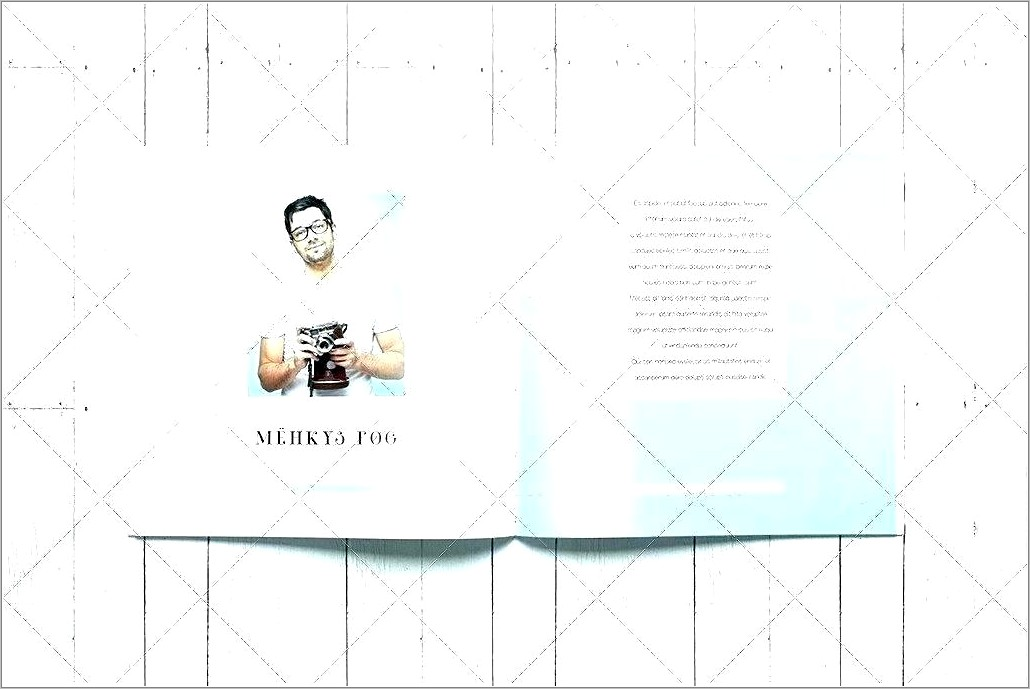 Indesign Photobook Layout Template