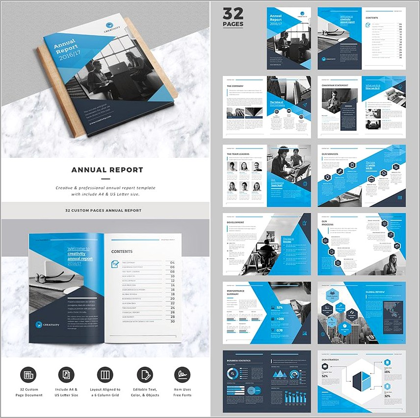 Indesign Technical Report Template